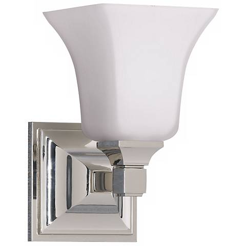 Feiss American Foursquare One Light Wall Sconce