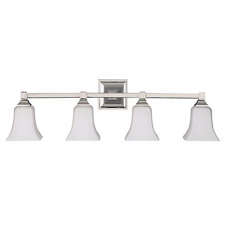 Feiss American Foursquare Four Light Bath Wall Light Fixture