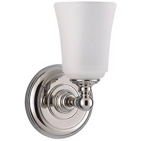 Feiss Hugenot Lake One Light Wall Sconce - #82520 Lamps Plus
