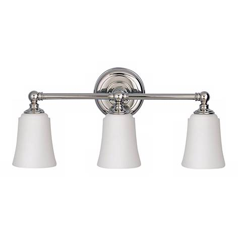 "Feiss Hugenot Lake 21"" Wide Three Light Bath Light Fixture"