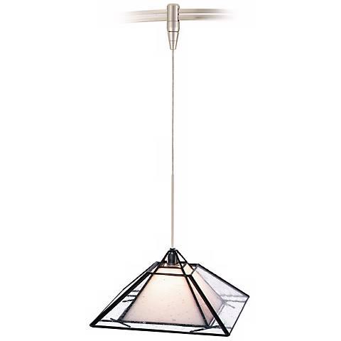 Oak Park Clear Tech Lighting MonoRail Pendant