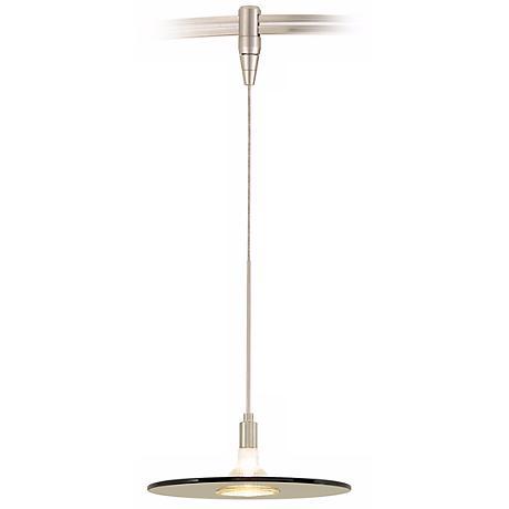Biz Havana Brown Satin Nickel Tech Lighting MonoRail Pendant