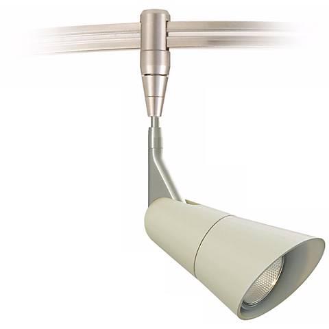 "Scania Linen 3"" Satin Nickel Tech Lighting MonoRail Pendant"
