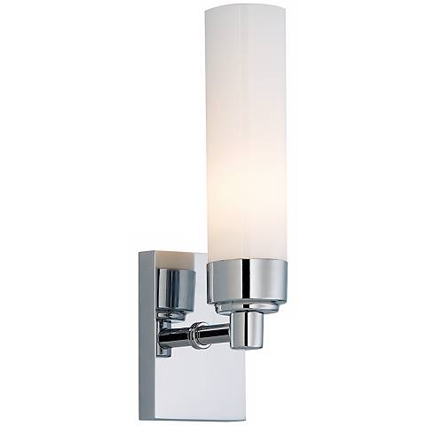 "Alex ADA Polished Nickel 11"" High Bath Sconce"