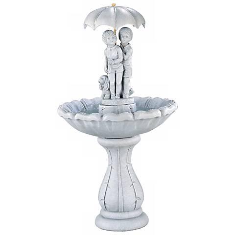 "Henri Studio Summer Showers 51"" High Garden Fountain"