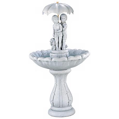 Henri Studio Summer Showers Garden Fountain