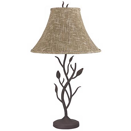 Wrought Iron Tree Table Lamp 83698 Lamps Plus