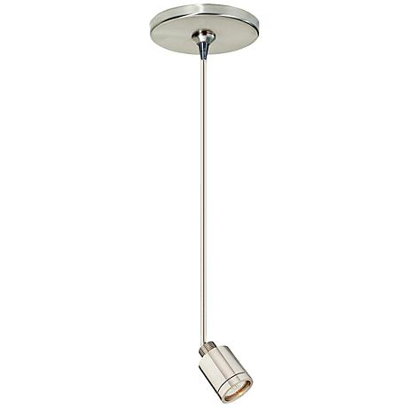 Tech Lighting Mini Pendant with Tellium Halogen Lamp Head