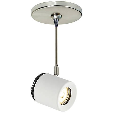 "Tech Lighting Burk 3 1/2"" Wide LED White Mini Pendant"