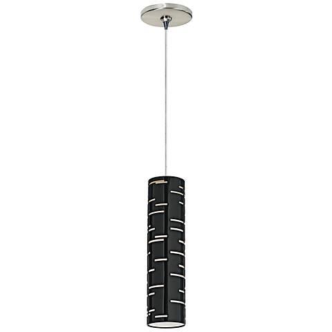 "Tech Lighting Revel 2 3/4"" Wide Satin Nickel Mini Pendant"