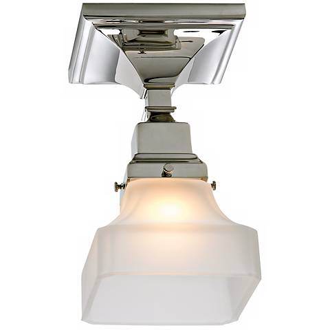 "Birmingham Pyramid 8 3/4"" High Ceiling Light"