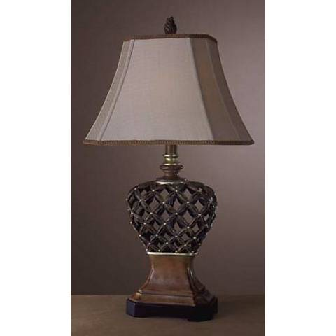 Ambience Open Lattice Table Lamp