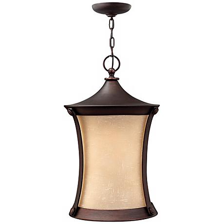 """Thistledown Collection 20 3/4"""" High Outdoor Hanging Light"""