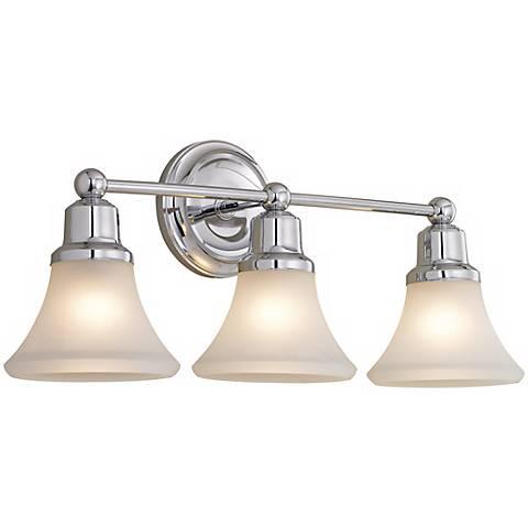 Bathroom Lighting Fixtures Polished Nickel elizabeth polished nickel three light bath fixture - #87703
