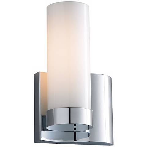 """Wave Right 9 3/8"""" High ADA Sconce"""