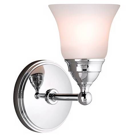 "Sophie 8 1/4"" High Chrome Wall Sconce"