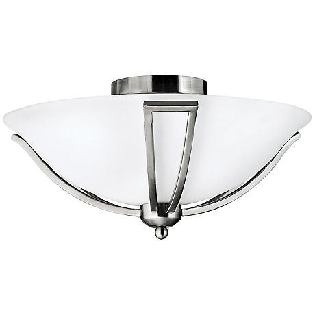 "Hinkley Bolla 16 3/4"" Wide Brushed Nickel Ceiling Light"