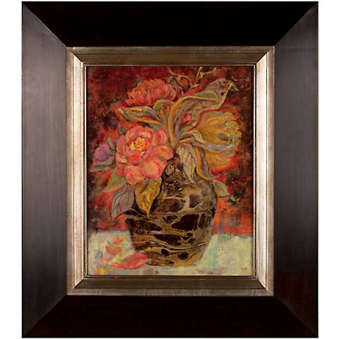 "Uttermost Flora Bunda Oil Reproduction 32"" High Wall Art"