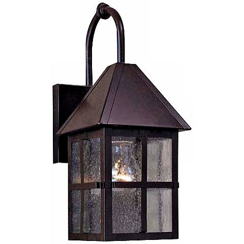 "Townsend Collection Solid Brass 14 1/2"" High Outdoor Light"