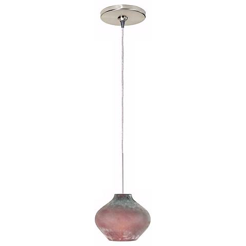 Scavo Amethyst Glass Tech Lighting Mini Pendant