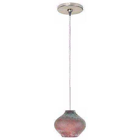 Scavo Amethyst Glass Tech Lighting Mini Pendant