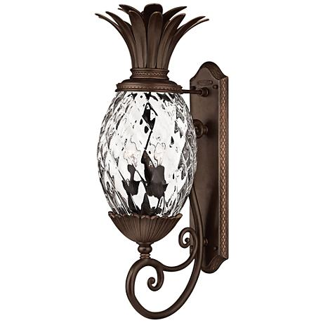 "Anana Plantation Collection 28"" High Outdoor Wall Light"