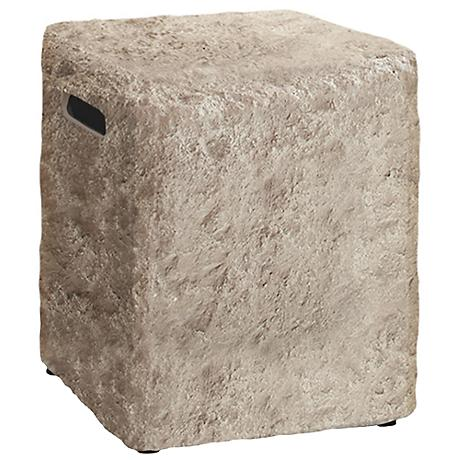 Real Flame Antique Stone Propane Tank Cover