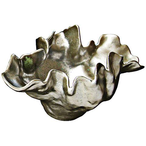 Meteor Haze Small Silver Bowl