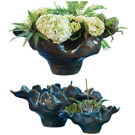 Meteor Haze Small Blue Bowl