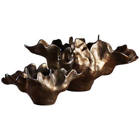 Meteor Haze Small Bronze Bowl