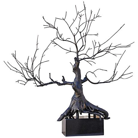 "Imperial Penzai Bronze 43"" High Bonsai Tree Sculpture"