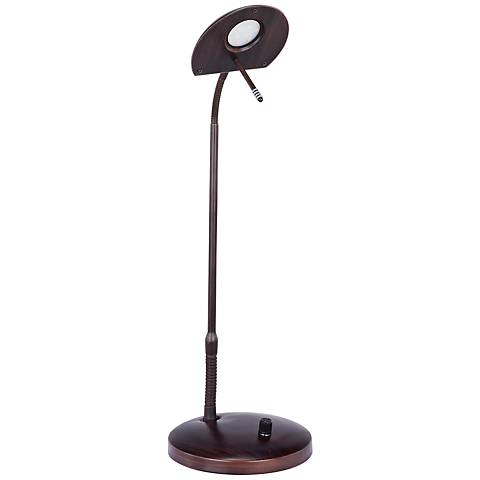 Oaklen Oil Rubbed Bronze Adjustable LED Desk Lamp
