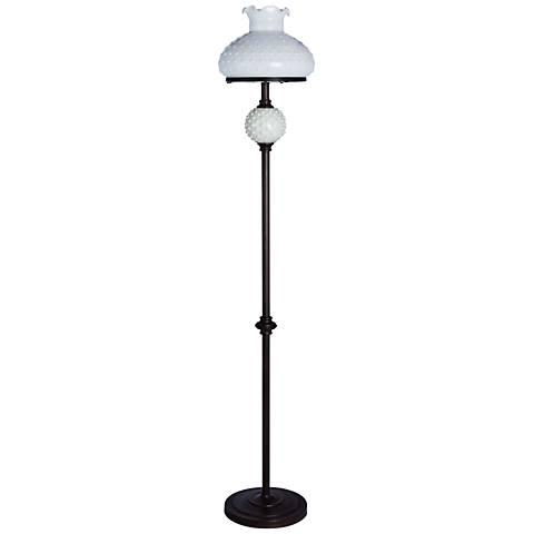 Sollo Bronze Hobnail Floor Lamp