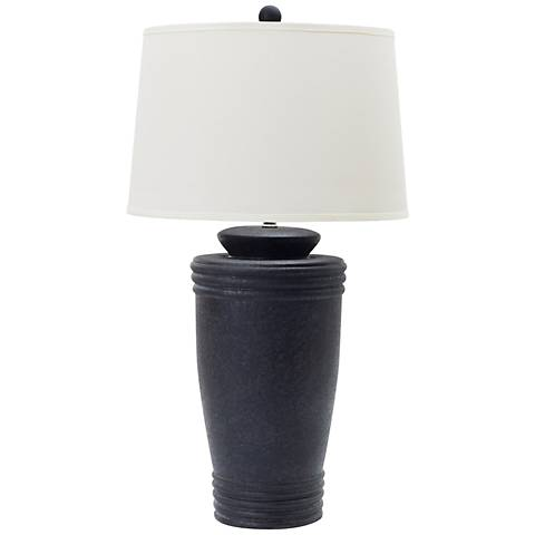 Medi Cast Iron Ceramic Table Lamp
