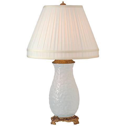 Port 68 Leopard White Porcelain Table Lamp