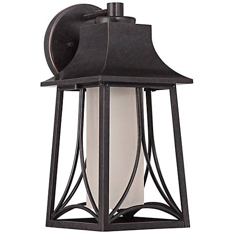 "Quoizel Hunter 15""H Imperial Bronze Outdoor Wall Light"