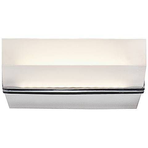 """Eurofase Olson 5 1/4"""" Square LED Frosted Wall Sconce"""