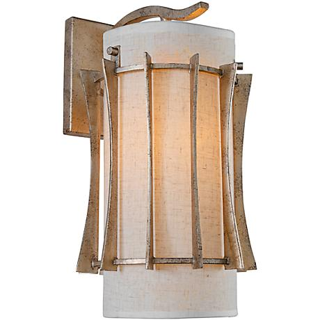 "Varaluz Occasion 15 1/2"" High Zen Gold Wall Sconce"