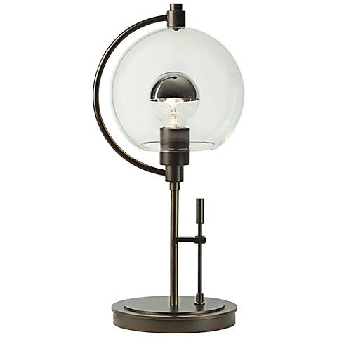 Hubbardton Forge Pluto Bronze Metal Accent Table Lamp