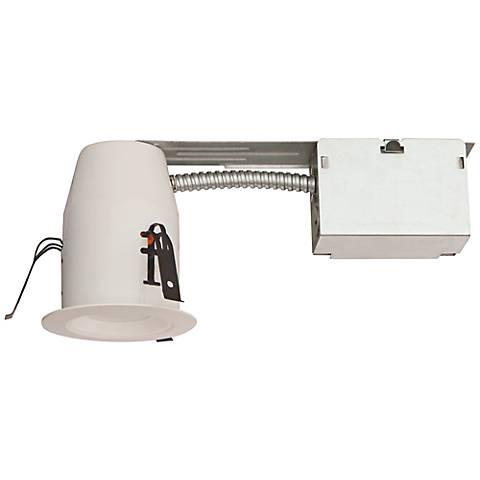 "3"" White Baffle Recessed Remodel 8 Watt LED Complete Kit"