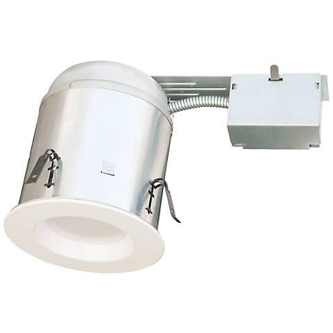 """10 Watt LED White Baffle Trim 4"""" Remodel Housing Kit"""