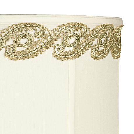 Metallic Gold Vine Lace Lamp Shade Trim - 3 Yards