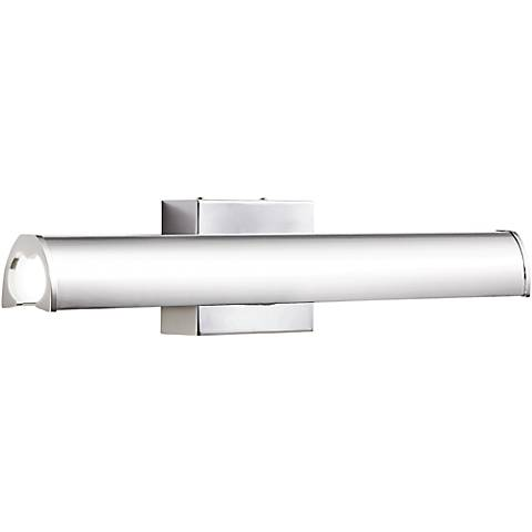 """Elan Krizia 24 1/4""""W LED Chrome Etched Acrylic Bath Light"""