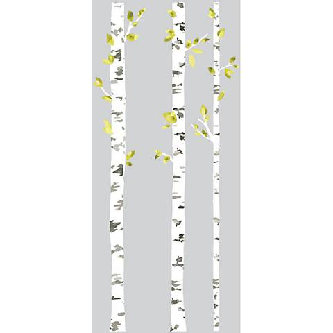 Birch Trees Peel and Stick Wall Decal Set