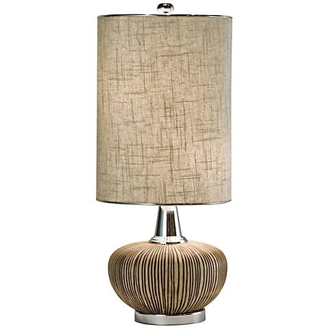 Thumprints Sahara Natural Table Lamp