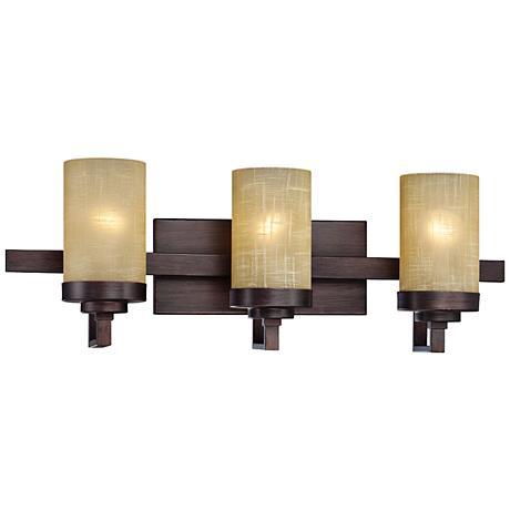 bronze 30 in wide and up bathroom lighting lamps plus. Black Bedroom Furniture Sets. Home Design Ideas