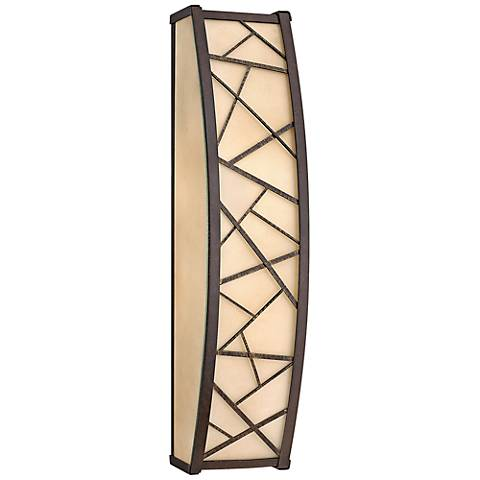 "Fredrick Ramond Nest 24""H Oil-Rubbed Bronze Wall Sconce"