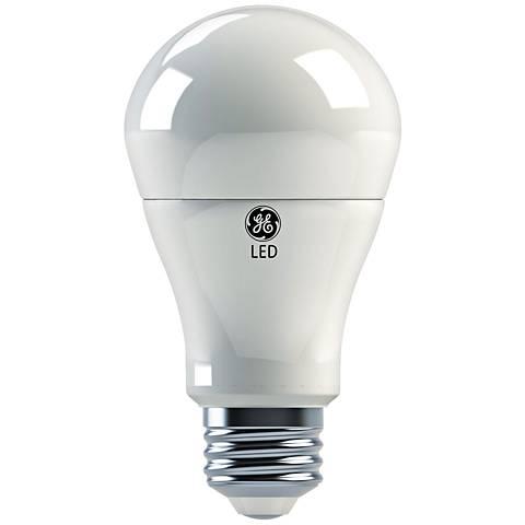 GE 3/9/16 Watt A21 3-Way LED Light Bulb