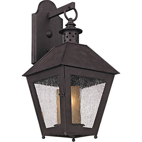 "Sagamore 18"" High Centennial Rust Outdoor Wall Light"