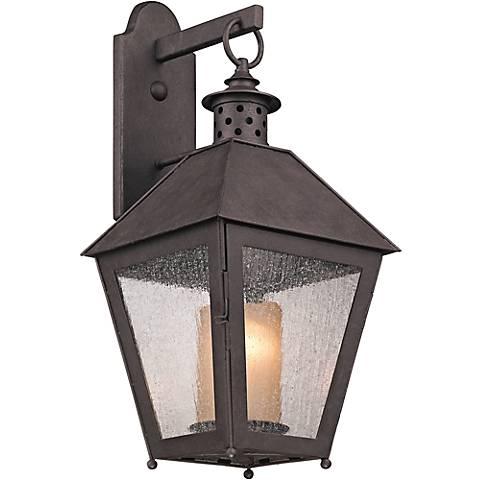 """Sagamore 22 3/4"""" High Centennial Rust Outdoor Wall Light"""